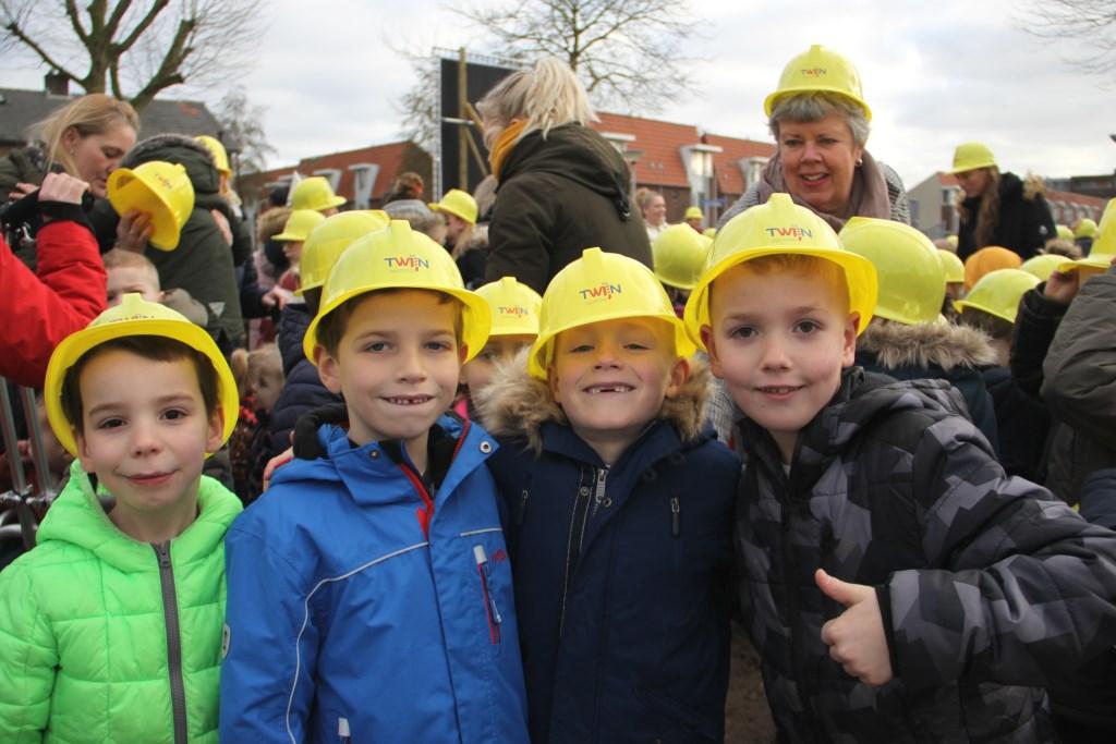 De kinderen nemen na de voorjaarsvakantie van 2021 hun intrek in het nieuwe kindcentrum.  © DPG Media