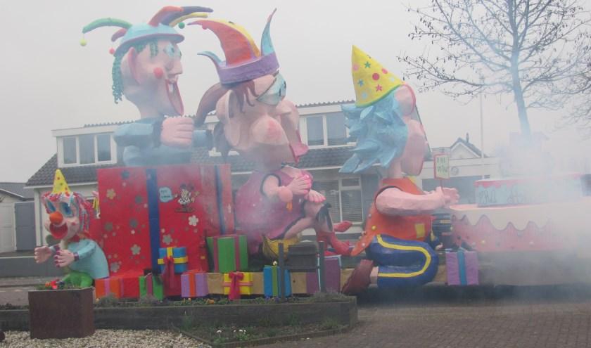 De grote optocht start zaterdag 22 februari om 14.41 uur vanaf De Poel bij Gebr. Verhoeven.