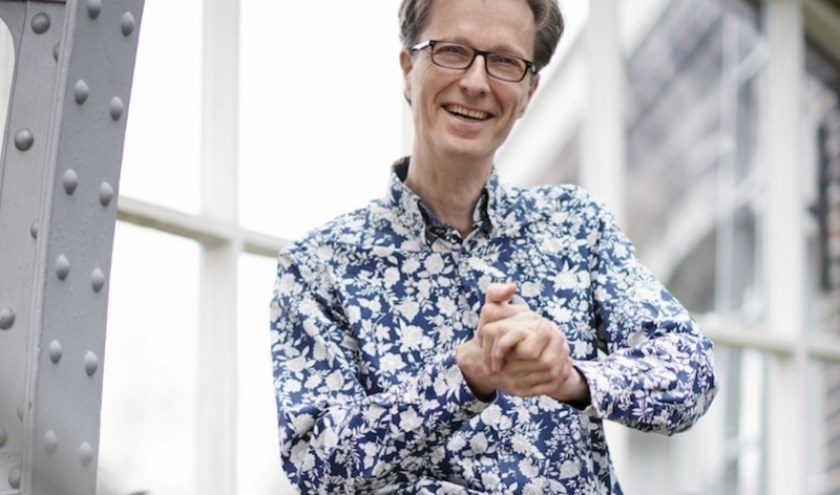 Wetenschapsjournalist Mark Mieras is al jaren een warm pleitbezorger van op hersenonderzoek geïnspireerd onderwijs. Foto: Hein van den Heuvel