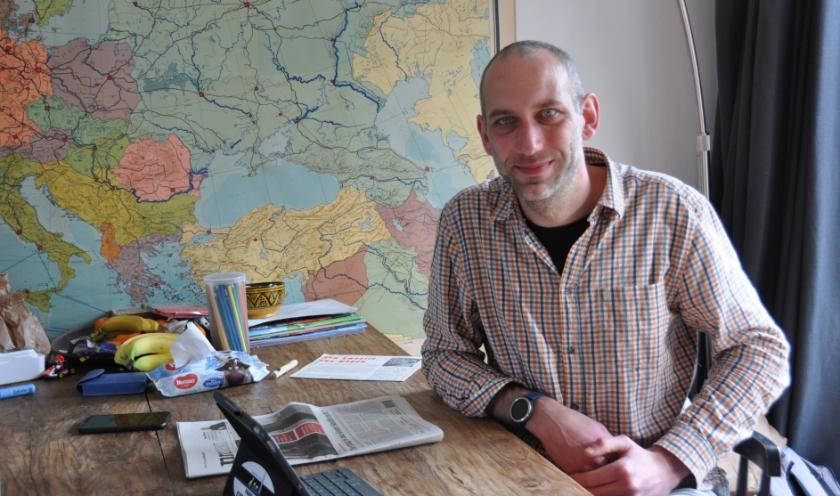 Erik den Hertog, opgeleid als planoloog, is fractievoorzitter van Bilts Belang.
