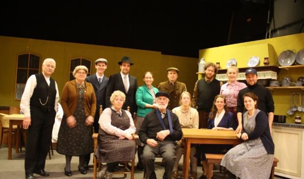 De cast van 'Februari'. Foto: pr © DPG Media
