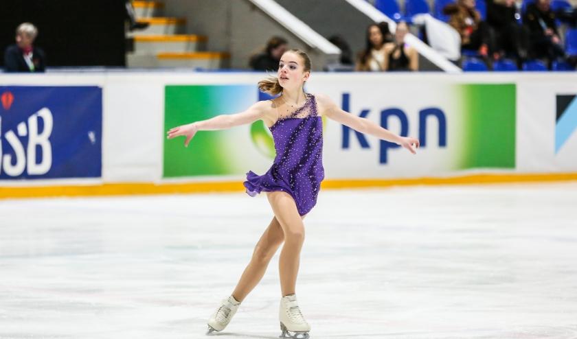 Josefine Boer uit Oud-Beijerland haalde een keurige 8e plek.