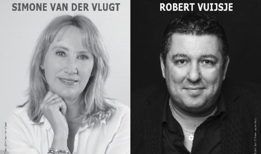 Schrijvers die aanwezig zijn op het lezersfestival in Kasteel van Rhoon.