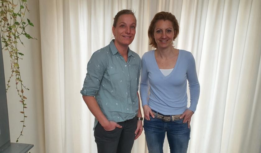 Maartje Vissers (links) is een van de kartrekkers voor het festival voor Iris Rijsdijk (rechts).