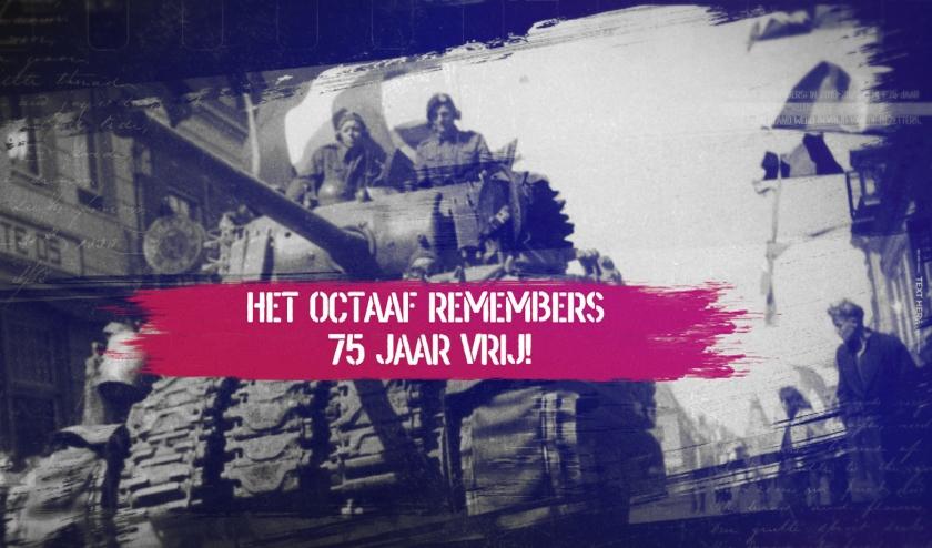 Tank in Elburg tijdens bevrijding.