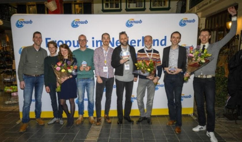 Alle prijswinnaars. (Foto: ANWB)