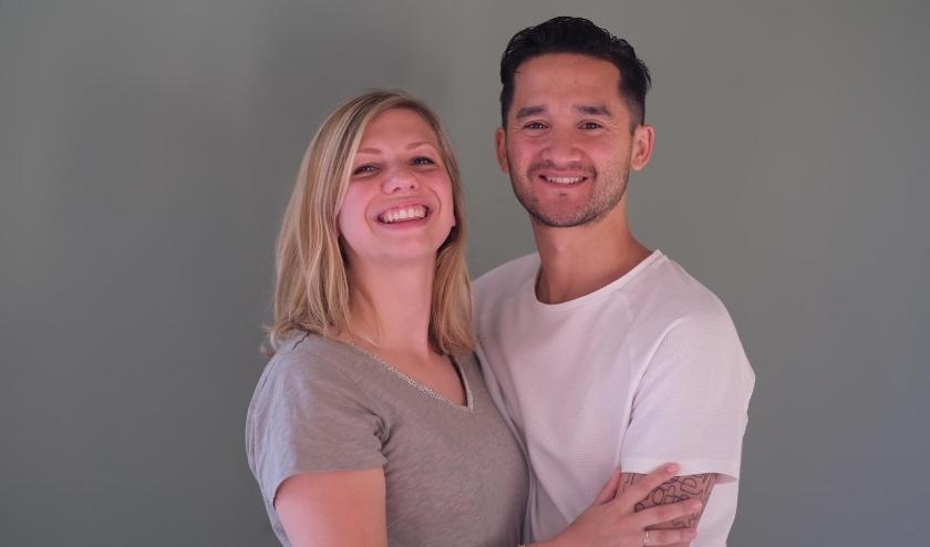 Laura en Leon zijn dolblij dat ze de gratis trouwerij hebben gewonnen