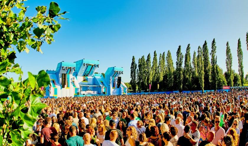 Zo zag het Summerlake Festival in Woerden in 2019 er uit.