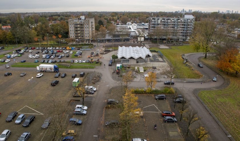 Op en rond het huidige Bachplein liggen veel kansen. (Foto: Jan van der Ploeg)