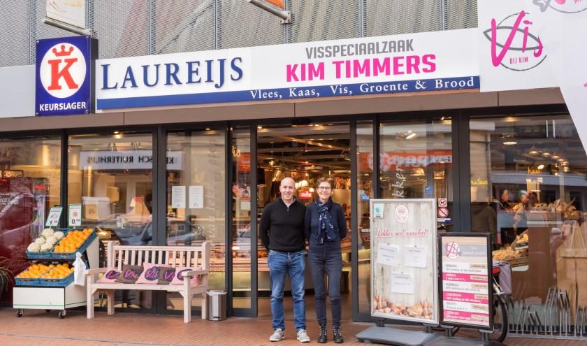 Keurslagerij Laureijs komt maandag 2 maartin handen van nieuwe eigenaar Martijn Truijen. Na bijna 40 jaar neemt Iet  Laureijs afscheid. FOTO: Keurslagerij Laurijs.