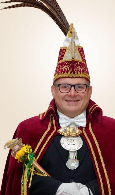 Prins Ton d'n Urste . Foto: Jos van den Eijnden.