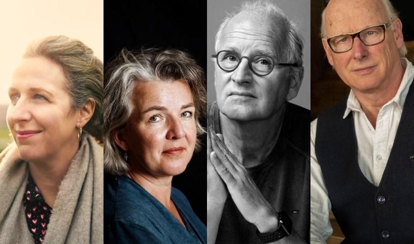 Aaf Brandt Corstius, Nicolien Mizee, Herman Koch en Oek de Jong zijn te gast bij de Literaire Manifestatie. Na afloop is er een boekenmarkt en signeren de schrijvers hun boeken.