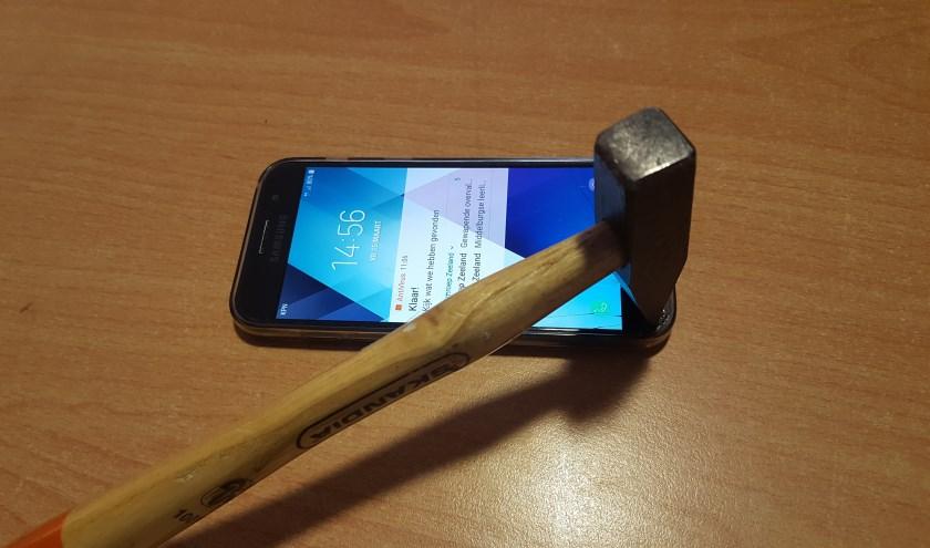 lastige mobiele telefoon