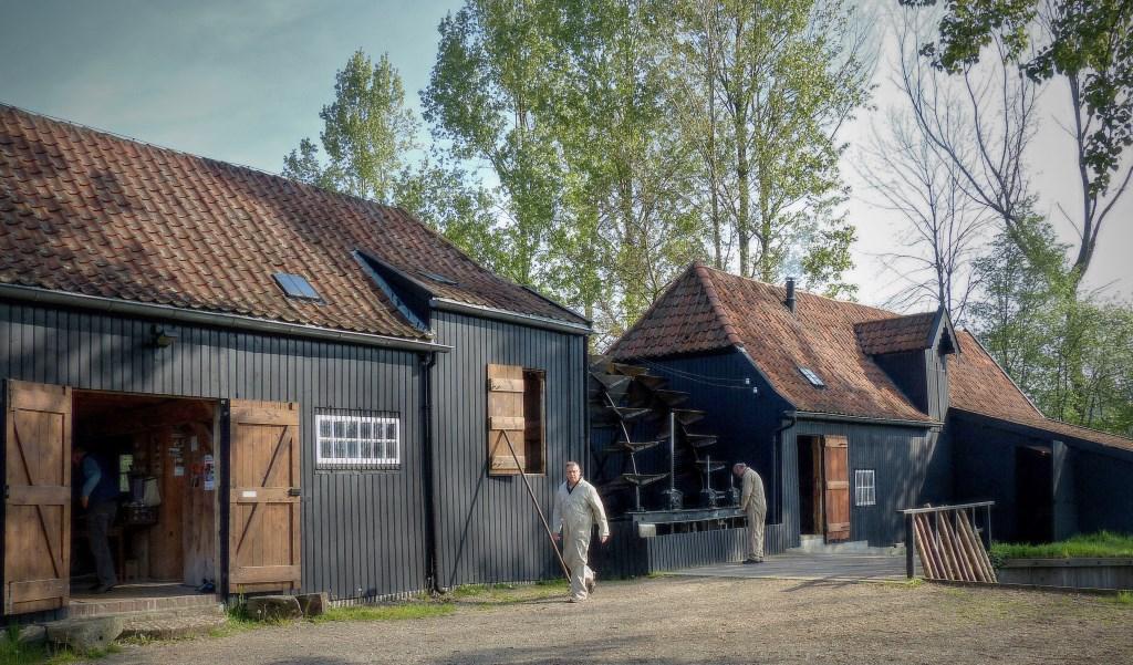 De Collse watermolen is de enige molen van Zuid-Nederland waarvan zowel de koren-als oliemolen nog in gebruik zijn. (Foto: Frans van Beers).  © DPG Media
