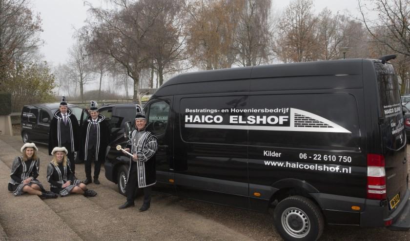 Haico Elshof was in 2018 prins carnaval in Kilder. Daar denken zijn vrouw Monique en hij met veel plezier aan terug. (foto: privé-archief)