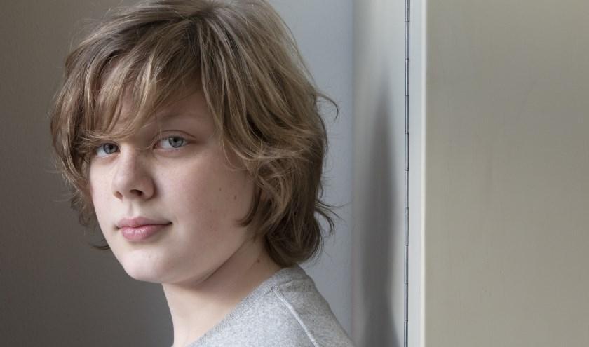 Kampens klavecinist David Zielman (14) verheugt zich op concert met Ton Koopman en Britten Jeugd Strijkorkest in Theater Odeon
