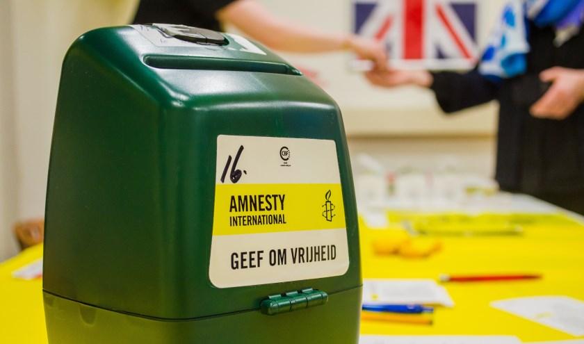 Amnesty International Collecteweek, 11 t/m 16 maart 2019