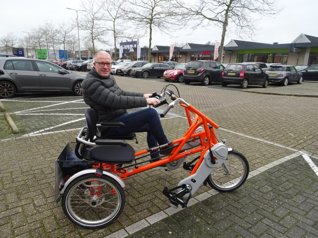 Michel Du Chatinier: 'Iedereen moet kunnen bewegen, ook als dit niet meer zo makkelijk gaat Foto:  © DPG Media