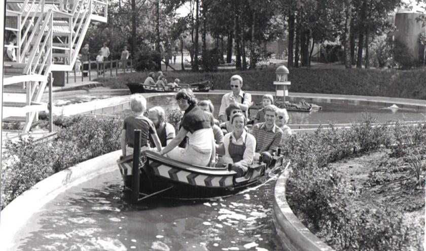 De Junglevaart zoals hij in 1979 voor het eerst in gebruik werd genomen. (Foto: Avonturenpark)