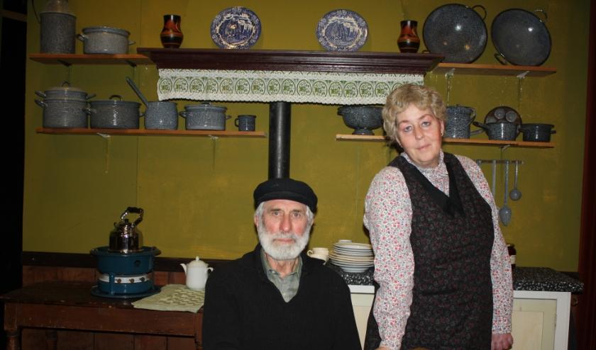 Ome Toon en tante Marie.