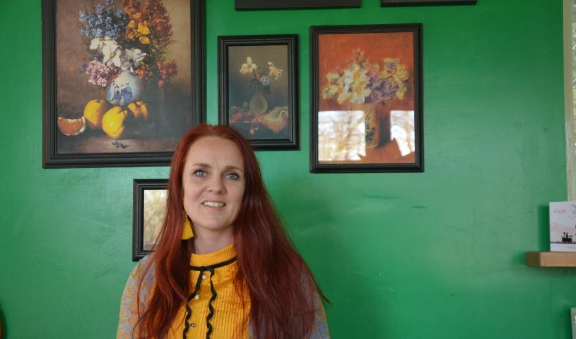 Ingrid van der Veen is gepassioneerd voor kleur. (Foto: Dick van der Veen)