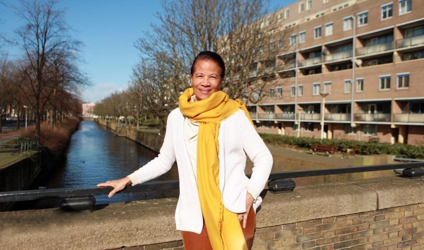 Milyacintha Karg heeft nog steeds warme herinneringen aan Den Haag (Foto: Peter van Zetten)