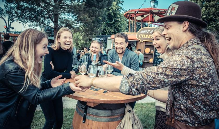 Festival TREK biedt ook entertainment van jonge theatermakers, kleinkunstenaarsen muzikaal talent. (Foto: Peter Lodder)