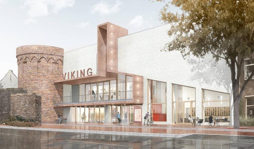 Het nieuwe theater MIMIK langs de Welle krijgt steeds meer gestalte. Voor informatie kijk op: www.mimik.nl/