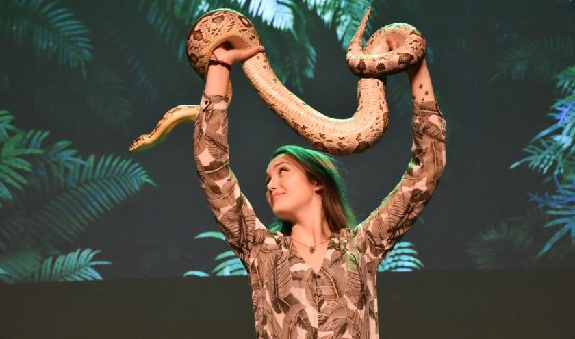 """""""Reptielen zijn namelijk superhelden"""", vindt de jonge reptielenexpert Smalbrugge. FOTO: De Schalm."""