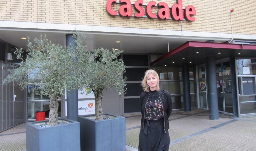 Directeur-bestuurder van Stichting Cascade Marjet van Os.