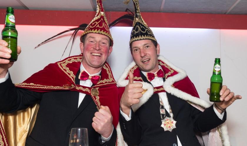 Prins Metwaldus de 57e Marco Immink en Adjudant Frank Pothoff zijn al weken druk en leven toe naar een geweldig carnavalsweekend.