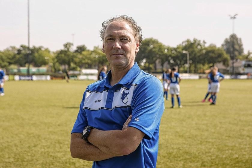 Jan Gaasbeek, momenteel nog trainer van de Merino's uit Veenendaal, wordt de nieuwe trainer van SKV.
