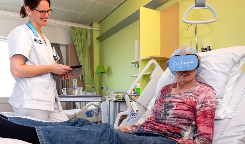 De bril is alleen bedoeld voor patiënten die een behandeling nodig hebben.