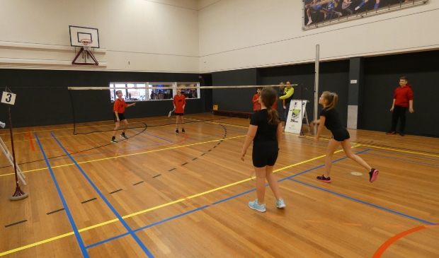 wedstrijd spelende kinderen Foto: mengerink © DPG Media
