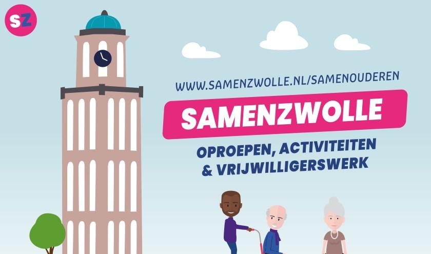 SamenZwolle houdt op verschillende plekken in de stad Buurtkamers, waaronder de Bovenkamer, vv Berkum en het Zonnehuis.