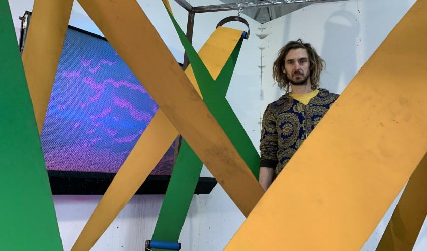 Zoro Feigl in zijn atelier.