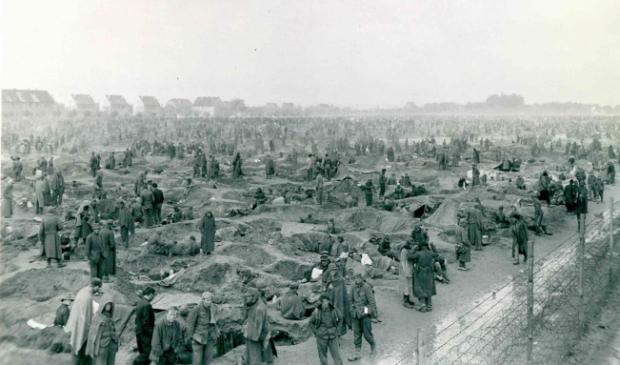 Krijgsgevangenenkamp Foto: National Archives © DPG Media