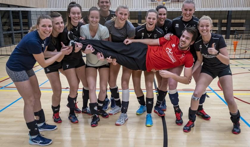 Het VCN-collectief kan zich nu gaan richten op het kampioenschap van de Topdivisie. (Foto: Wijntjesfotografie.nl)