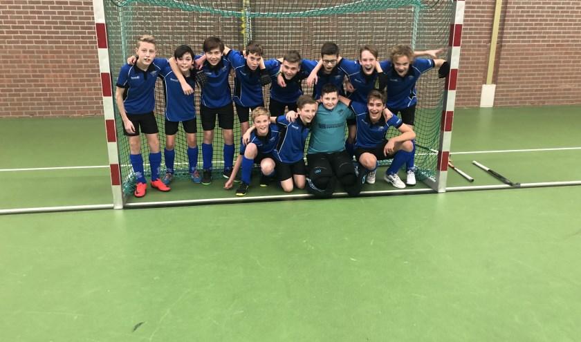 De jeugdige kampioenen van Basko!