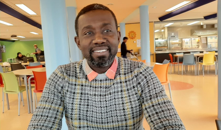 Francis Taylor is afkomstig uit het Afrikaanse land Ghana en woont sinds 2018 in Zeist.