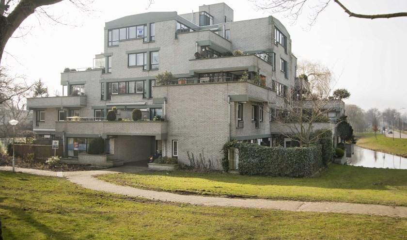 Terrasflat in Palenstein, Wim Davidse (architect), ontwerp ca.1973, gebouwd 1978. Foto: Dick Valentijn.