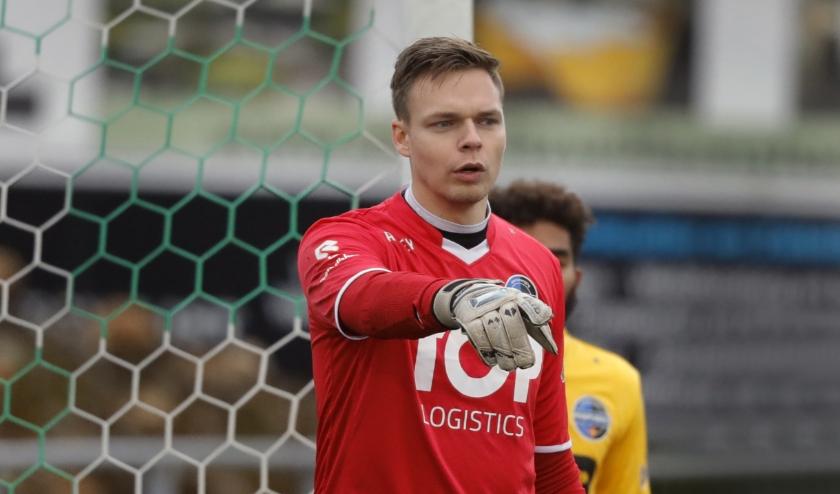 Dyron Bijl is met SV Poortugaal bezig aan een sterk seizoen, de ploeg staat ruim bovenaan (archieffoto: John de Pater)