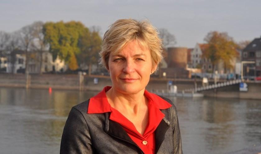 Laetitia van der Lans uit Deventer is hoofd geworden van de afdeling levensbeschouwelijke programma's van KRO -  NCRV. (foto KRO-NCVR)