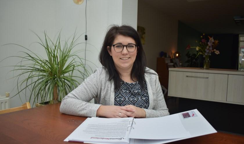 """Marcella Scheper: """"Vrijwilligerswerk is ook een verrijking voor jezelf."""" (Foto: Van Gaalen Media)"""