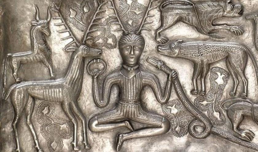 Keltische kunst is fascinerend door het vakmanschap. Foto: Posterheide Brabant.