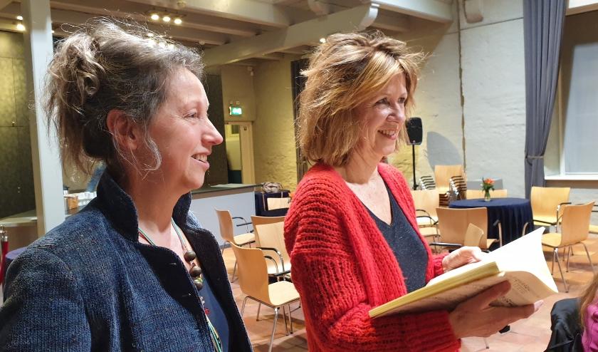 Corline en Tineke zingen voor de vierde keer mee met KZM-Belcanto.