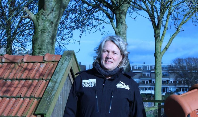 """""""Tijdens wandelingen over het terrein horen we graag ideeen"""", zegt Monique Meijer van Travers Welzijn."""