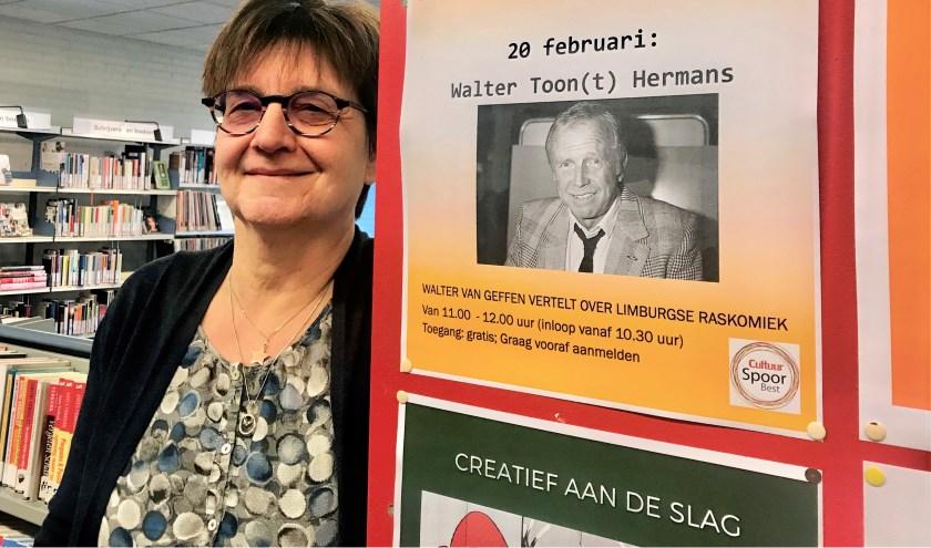 Marianne Rombouts van CultuurSpoor Best: 'Het Gouden Spoor spreekt mensen aan'.