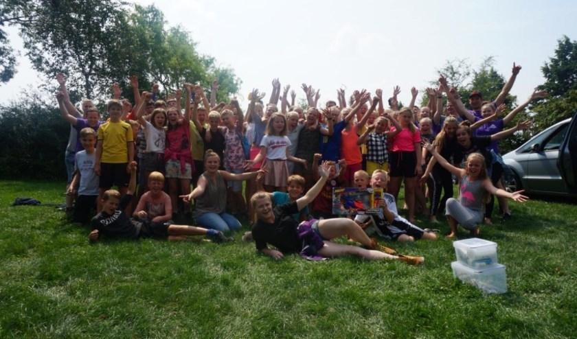 Een gezellig zomerkamp vol leuke activiteiten! Foto: archief