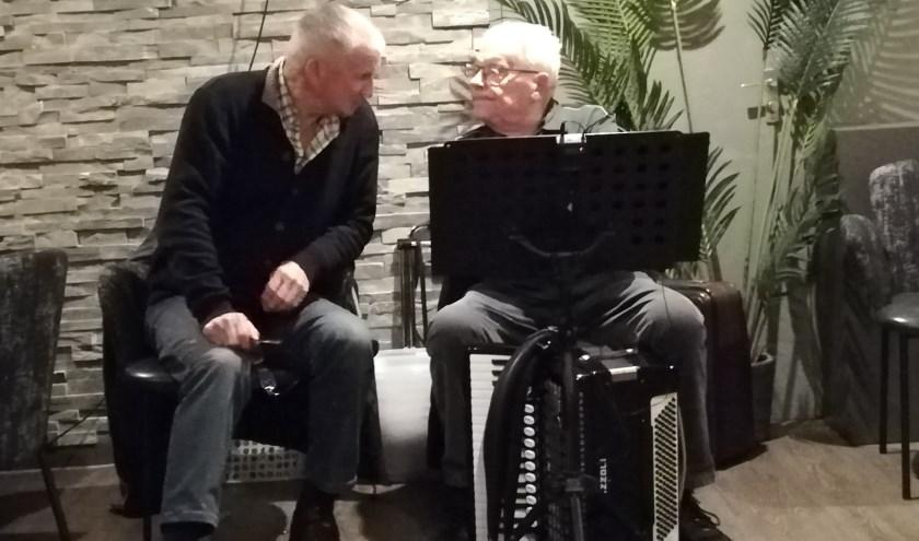 Zanger en accordeonist